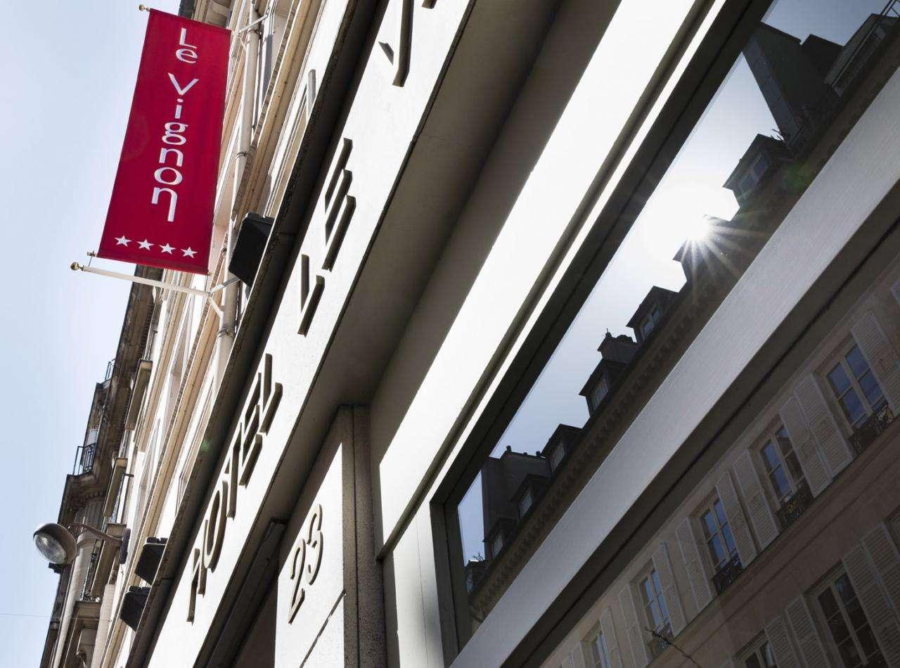 Hôtel Le Vignon - Accueil