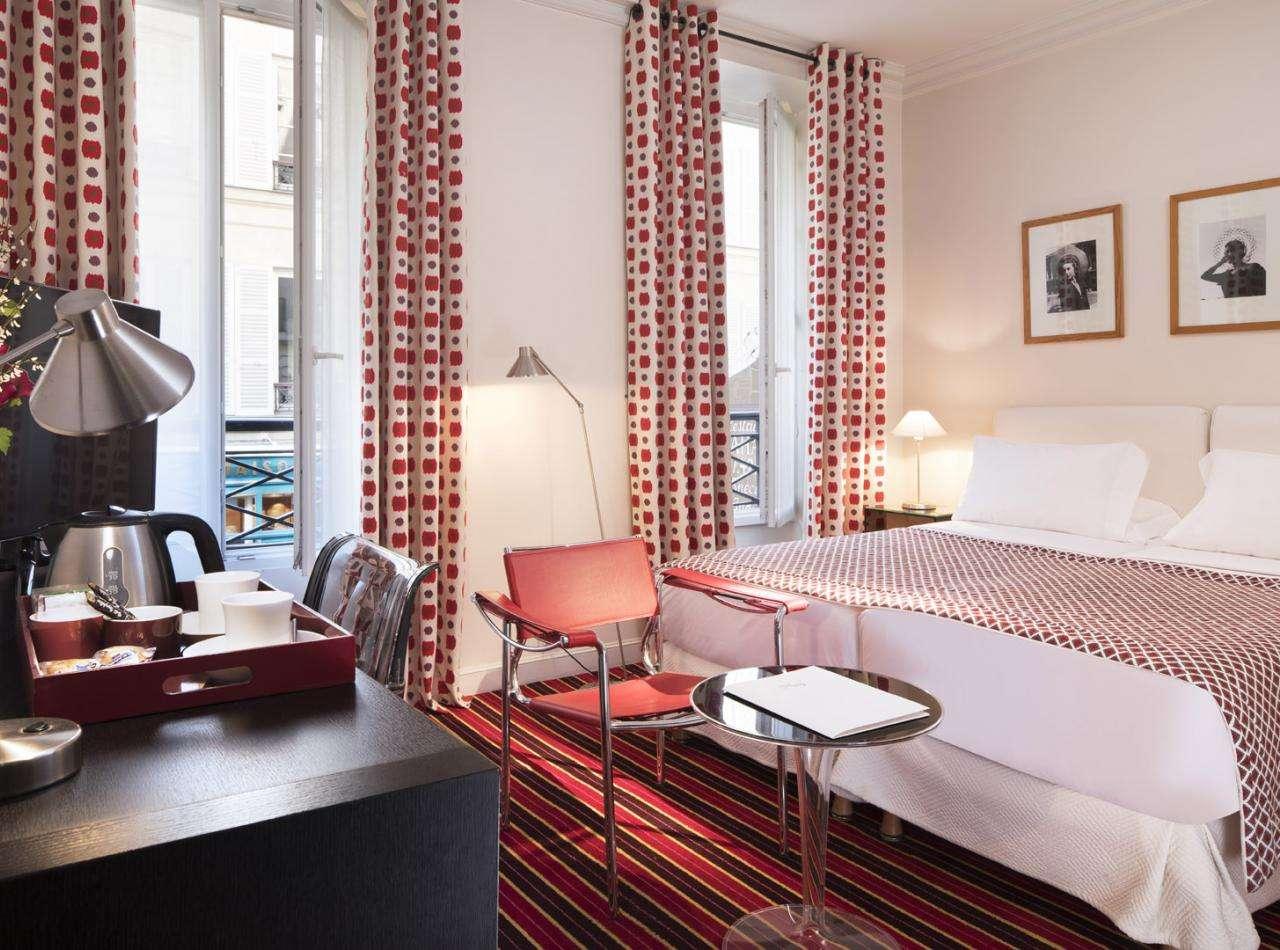 Hôtel Vignon - ChambreHôtel Le Vignon - Room